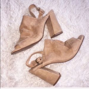 Chinese Laundry Suede Mules